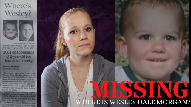 MISSING: WESLEY DALE MORGAN / Kidnapped or Sold?
